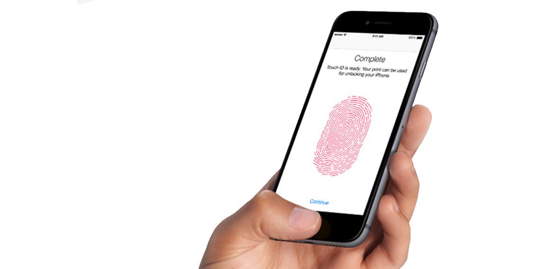 finger iphone