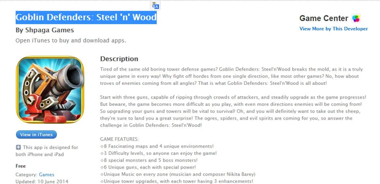 Goblin game app