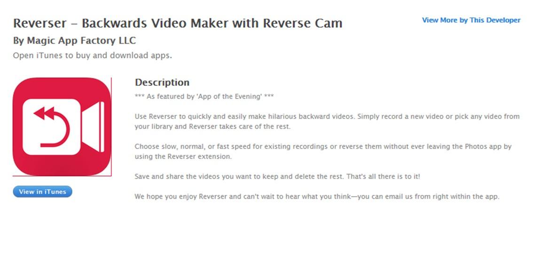 reverser app